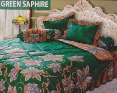 Jual Sprei My Love Green Saphire
