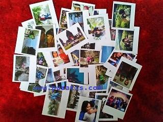 Hasil Foto Polaroid