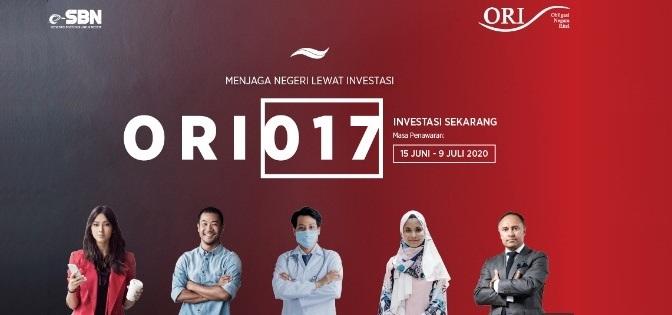 ORI017 Tahun 2020 (OBLIGASI RITEL NEGARA INDONESIA SERI KE-17)